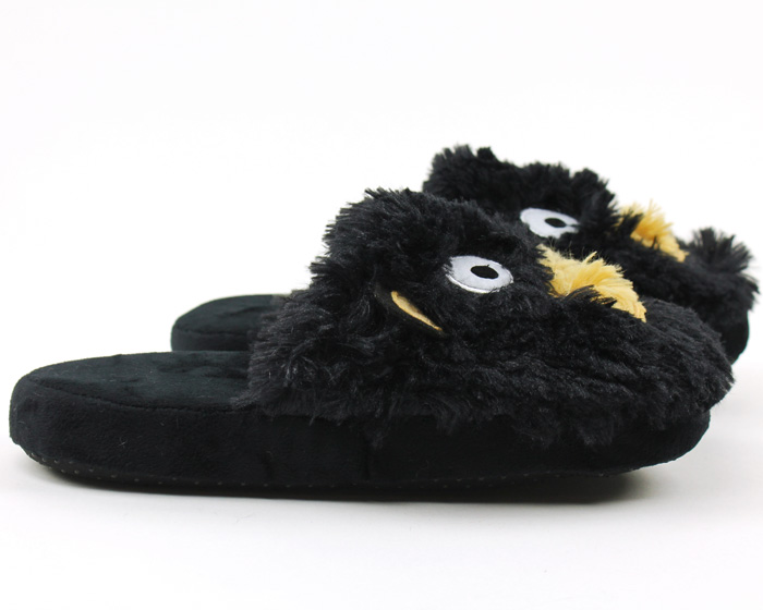 Black Bear Critter Slippers 2