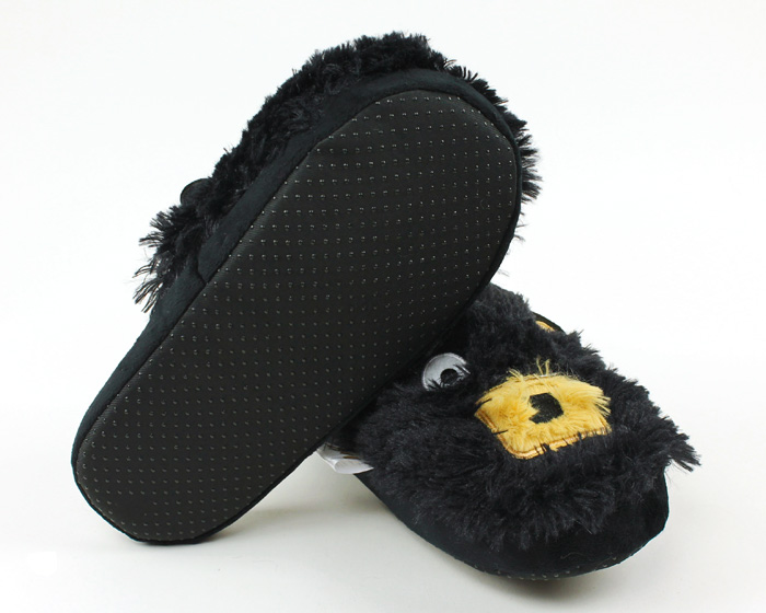 Black Bear Critter Slippers 3