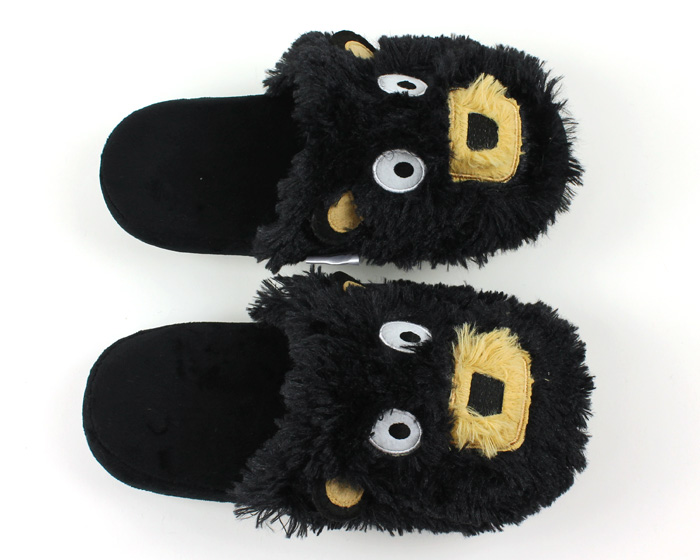 Black Bear Critter Slippers 4