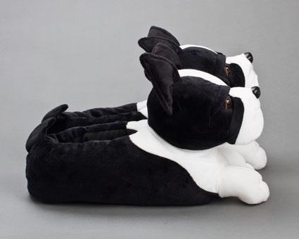 Boston Terrier Slippers | Boston Terrier Dog Slippers
