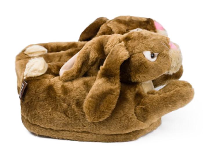 Brown Bunny Rabbit Slippers 2