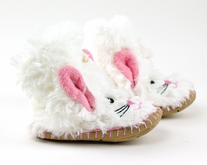 Children's Bunny Slouch Slippers 2