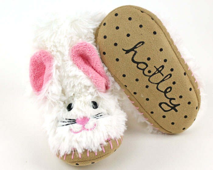 Kids Bunny Slouch Slippers Children S Bunny Slippers