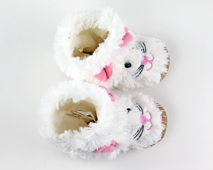 Children's Bunny Slouch Slippers 4