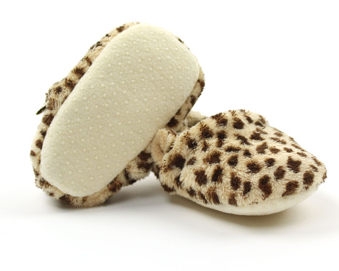 Cheetah Baby Booties