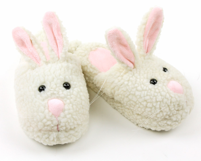 Kids Bunny Slippers | Toddler Bunny Slippers | Bunny Slippers for ...