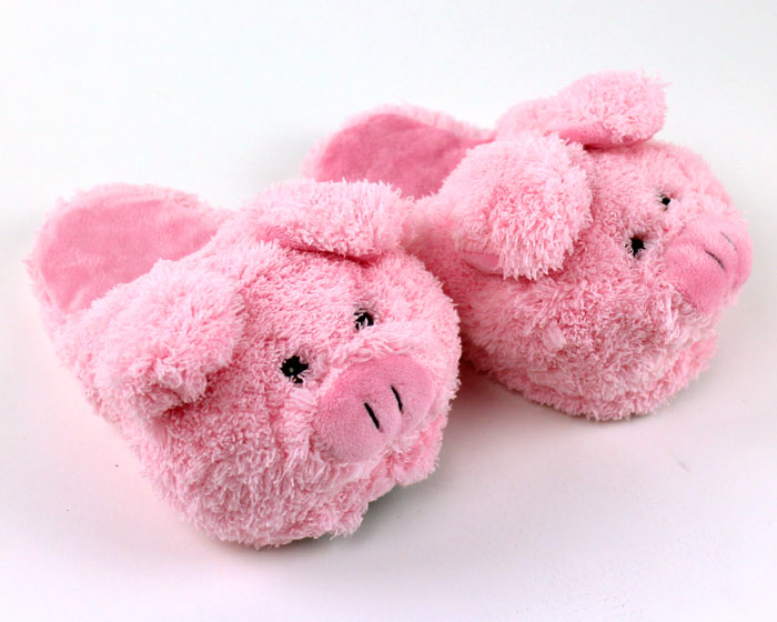 Children's Pig Slippers 1