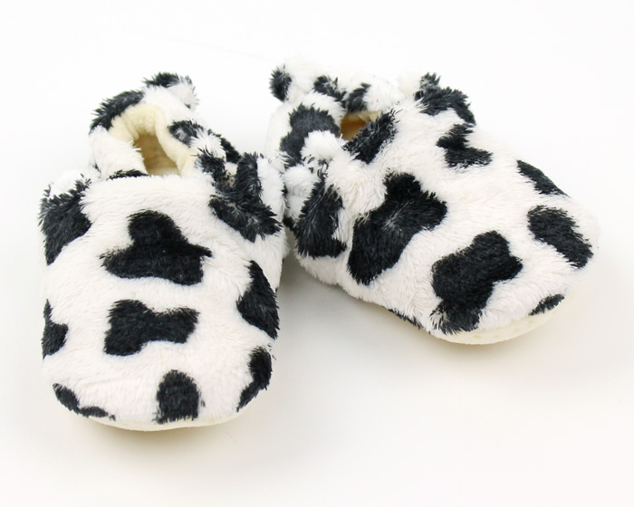 Cow Baby Booties