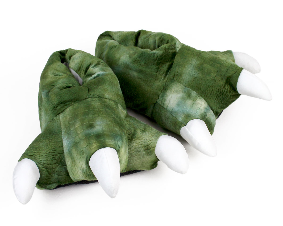 eb45578478af Dinosaur Feet Slippers with Sound