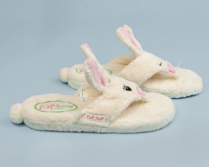 Flip Hop Spa Sandals Bunny Rabbit Spa Sandals