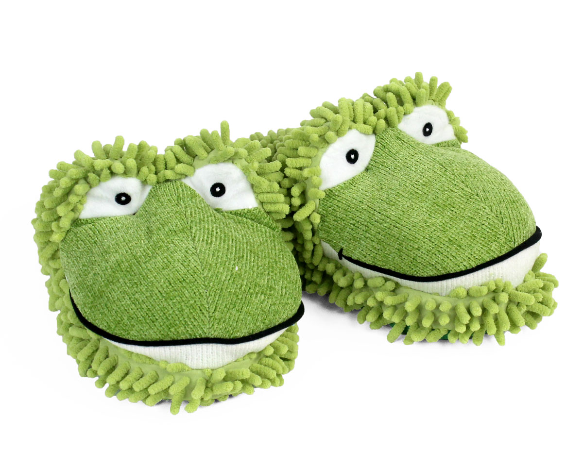 81f961abf2c Fuzzy Frog Slippers