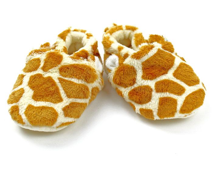 Giraffe Baby Booties