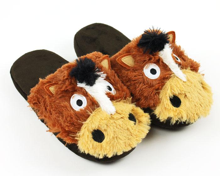 Horse Critter Slippers 1