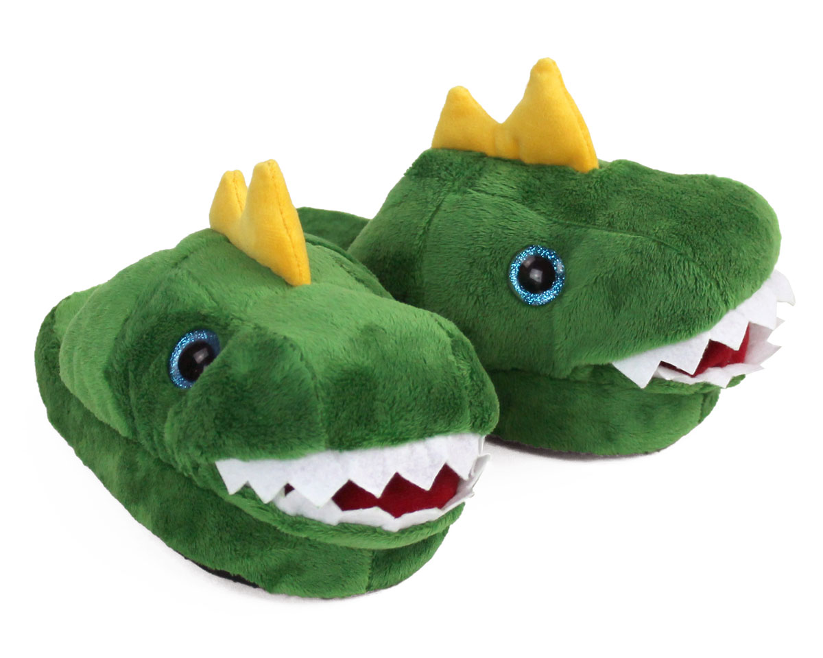 46edc8563486 Kids Dinosaur Slippers