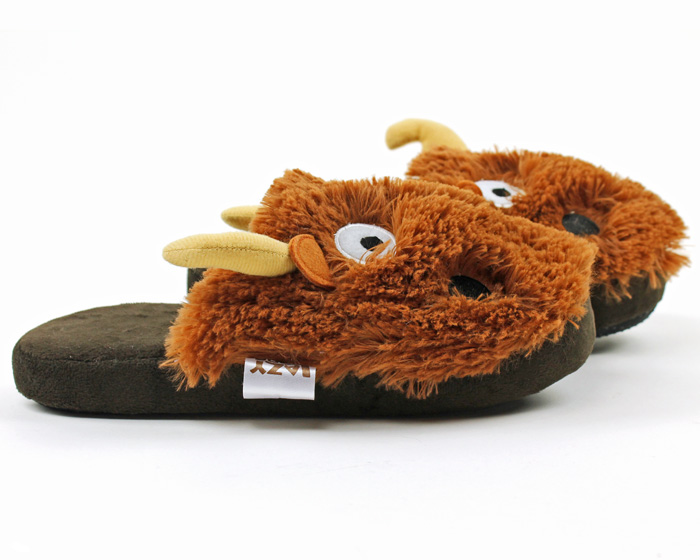 Moose Critter Slippers 2