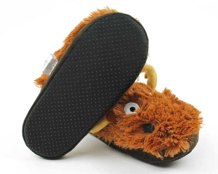 Moose Critter Slippers 3