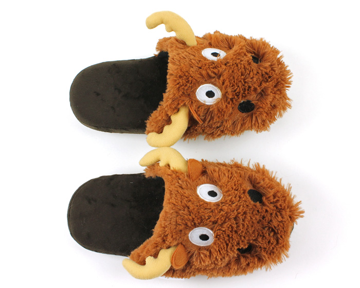 Moose Critter Slippers 4