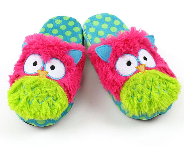 Owl Critter Slippers 1
