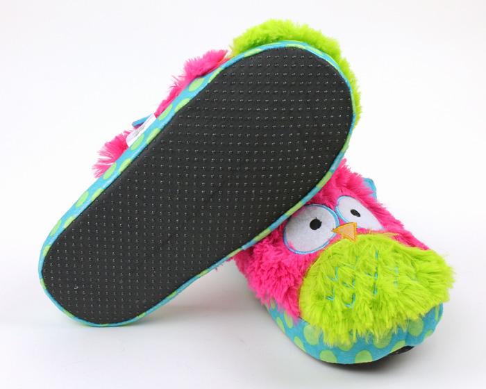 Owl Critter Slippers 3