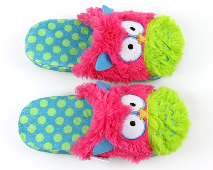 Owl Critter Slippers 4