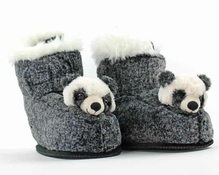 Panda Slipper Boots