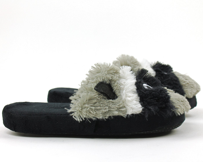 Raccoon Critter Slippers 2