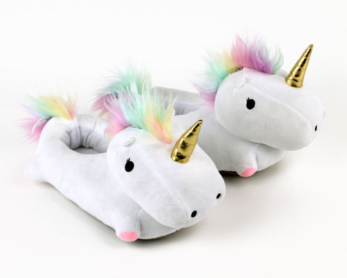 Unicorn Light Up Slippers View 1 ... f3b8c802f