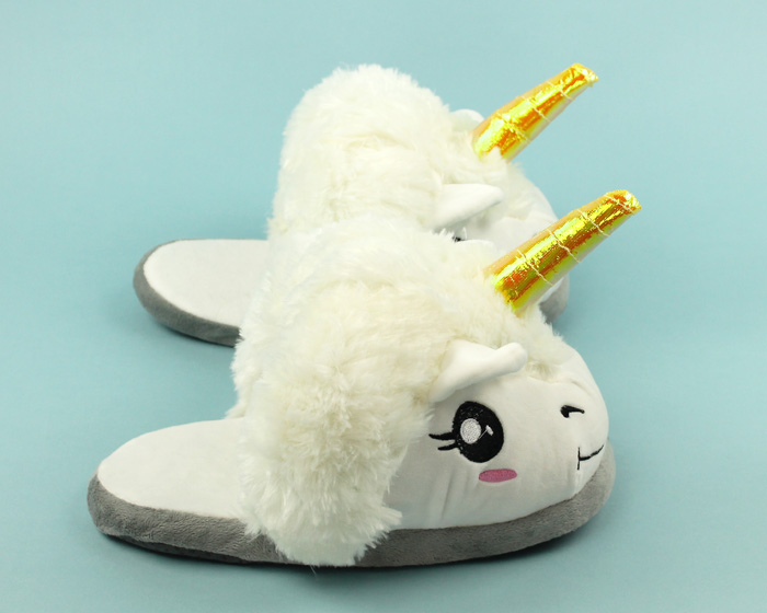 Unicorn Slippers 2