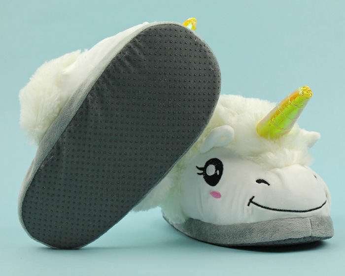 Unicorn Slippers 3