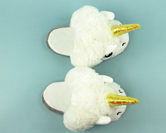 Unicorn Slippers 4