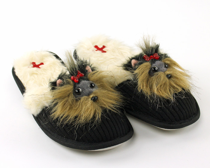 Yorkshire Terrier Animal Slippers 1