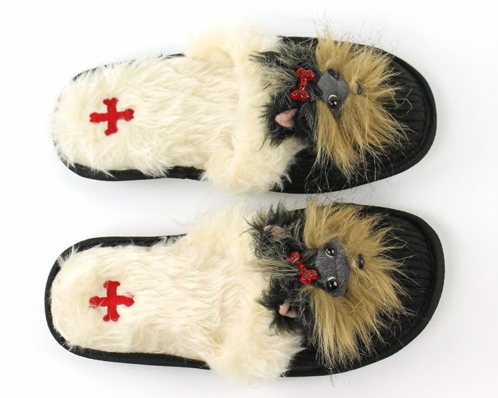 Yorkshire Terrier Animal Slippers 4
