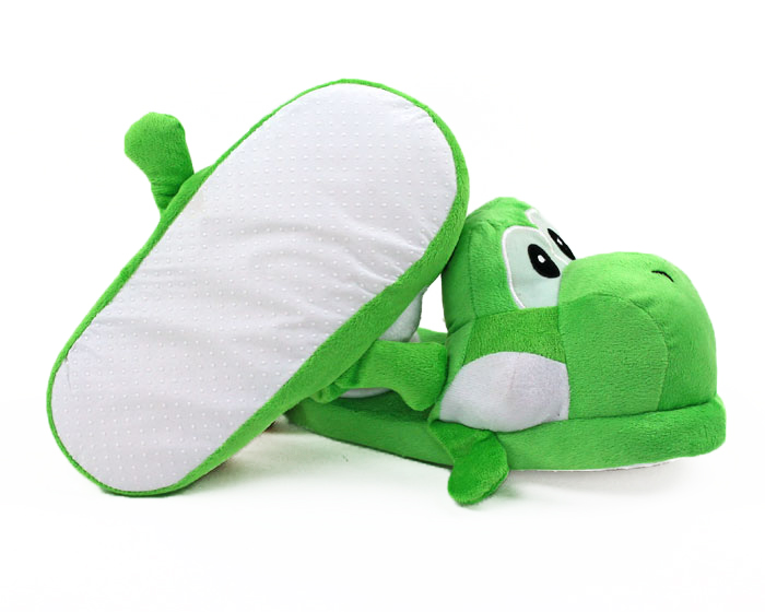 Yoshi Slippers bottom view