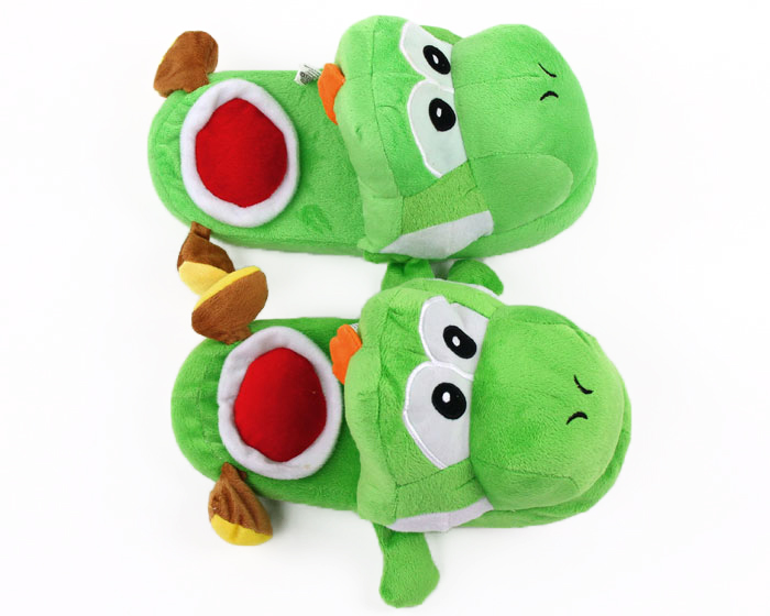 Yoshi Slippers top view