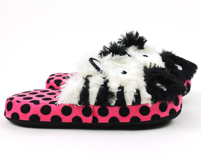 Zebra Critter Slippers 2