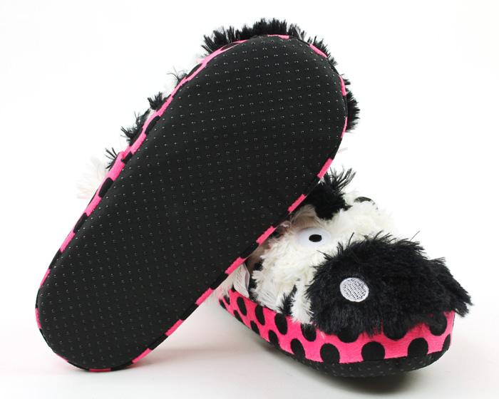 Zebra Critter Slippers 3