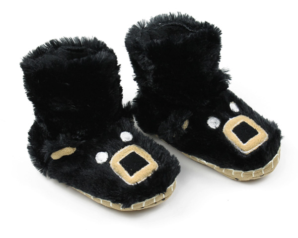 Kids Bear Slouch Slippers