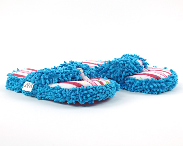 Bear Stripe Spa Slippers
