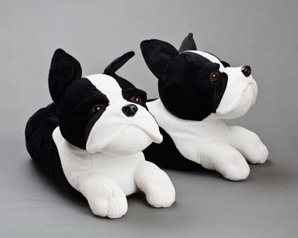 Boston Terrier Slippers