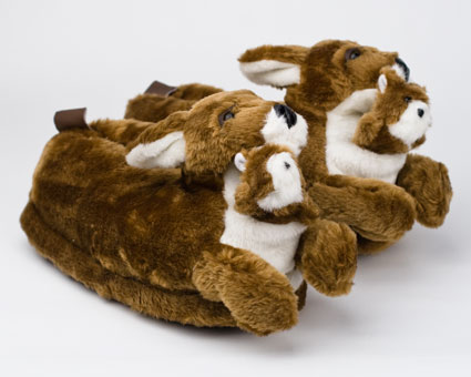 Kangaroo Slippers