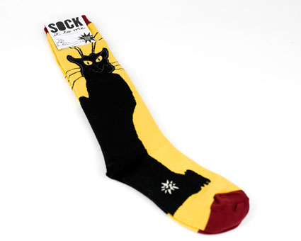 Chat Noir Socks