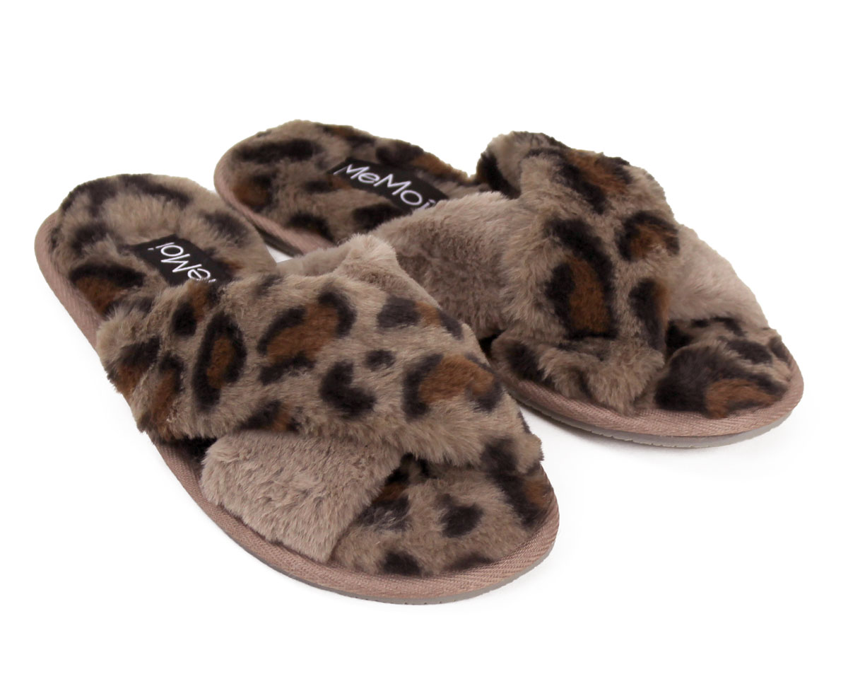 Cheetah Slippers