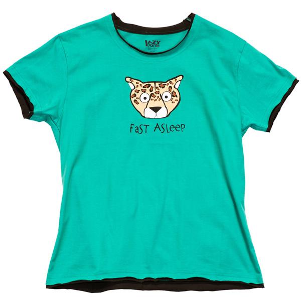 Cheetah Pajama Top