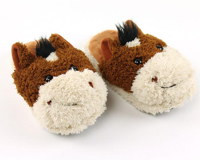 Kids Horse Slippers