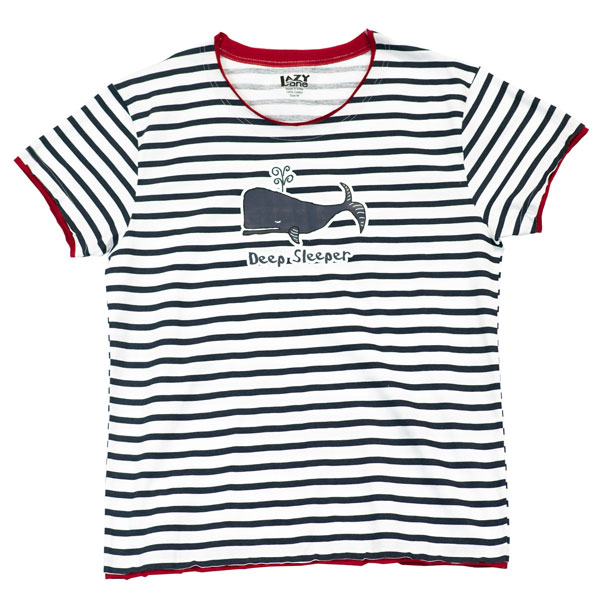 Deep Sleeper Whale Pajama Top