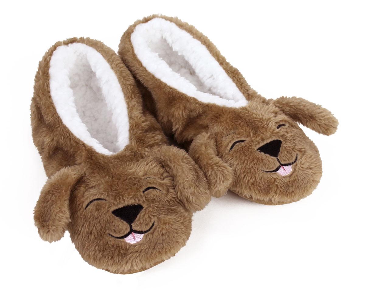Sleepy Dog Sock Slippers