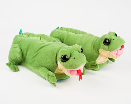 Tongue Frog Slippers