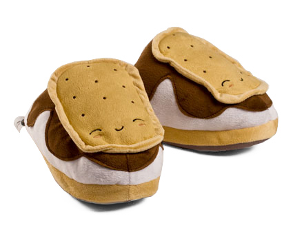 Heated Smores USB Slippers