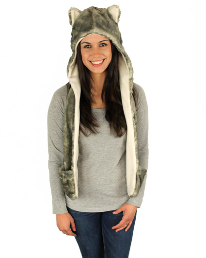 Husky Hooded Scarf