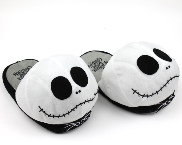 Plush Jack Skellington Slippers
